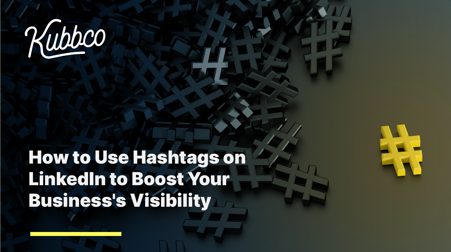 How to use hashtags inset